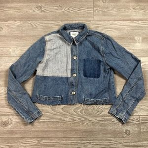 Forever 21 Denim Jean Jacket Women's S BB63